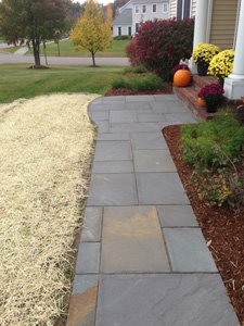 There Are Three Basic Types Of Paving Materials For Walks And Patios Which  Include: Bricks Made Of Natural Clay, Which Are Fired To An Extent That  They Can ...